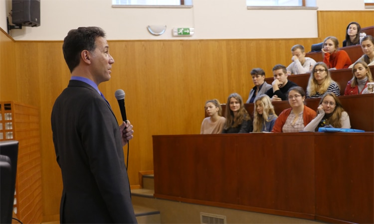 Ambassador Sterling visits Eastern Slovakia (Embassy Photo)