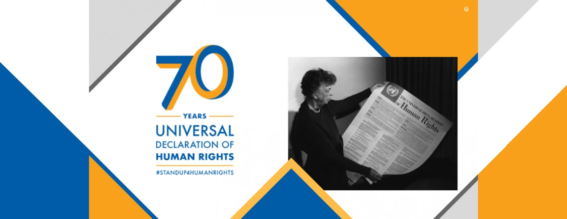 Celebrating Human Rights Day and 70 Years of the Universal Declaration of Human Rights